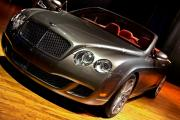 Steer Digital Art - Bentley Continental GT by Cosmin Nahaiciuc