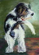 Rescue Pastels Posters - Bentley  Poster by Joan Wulff