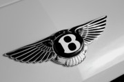 Transportation Tapestries Textiles Prints - Bentley Print by Kurt Golgart