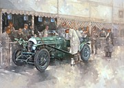 Exterior Painting Posters - Bentley Old No.7 Poster by Peter Miller