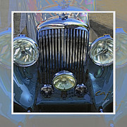 Briton Digital Art Prints - Bentley Park Ward METAL PRINT RECOMMENDED Print by Curt Johnson