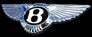 Emblem Digital Art - Bentley by Ricky Barnard