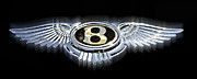 Car Emblems Prints - Bently Emblem 1 Print by Tom Griffithe