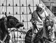 Rabat Photos - Berber BW by Chuck Kuhn