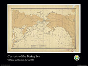 Adelaide Images - Bering Sea Currents 1881