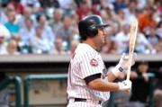 Astros Photos - Berkman at Bat by Teresa Blanton
