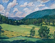 Pissarro Prints - Berkshires Summer Print by Thor Wickstrom