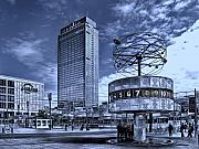 Alexanderplatz Framed Prints - Berlin Alexanderplatz Framed Print by Joachim G Pinkawa