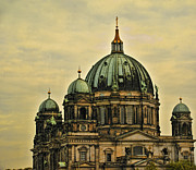 Berlin Germany Photo Framed Prints - Berlin Architecture Framed Print by Jon Berghoff