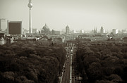 Television Tower Posters - Berlin from the Victory Column Poster by RicardMN Photography