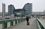 Traveller Photos - Berlin Hauptbahnhof Main Train Station by Matthias Hauser