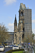 Seeing Art - Berlin Kaiser Wilhelm Memorial Church Kurfuerstendamm by Matthias Hauser