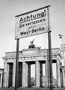 West Berlin Framed Prints - Berlin Framed Print by Photo Researchers, Inc.