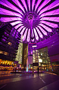 Berlin Framed Prints - Berlin Sony Center Framed Print by Mike Reid