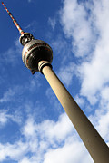 Television Tower Posters - Berlin Television Tower picture Poster by Falko Follert
