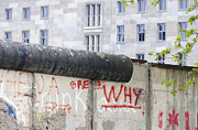 Berlin Germany Prints - Berlin Wall Print by Matthias Hauser