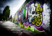 Berlin Art Photos - Berlin Wall by Thomas Kessler