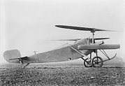 Aviation Pioneers Prints - Berliner Helicopter, 1922 Print by Library Of Congress