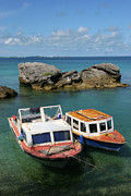 Atlantic Beaches Originals - Bermuda boats by Lori Goodwin