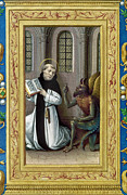 Manuscript Illumination Prints - BERNARD de CLAIRVAUX Print by Granger