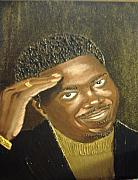 Keenya Woods Mixed Media Originals - Bernie Mac- The Mac Man by Keenya  Woods