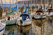 Photoart Prints - Berthed Print by Ed Hall