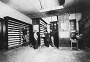 Police Officer Photos - Bertillons Filing System, 19th Century by Science Source