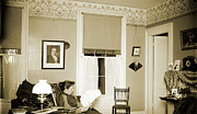 Early Photography Originals - Bess in the Parlor by Jan Faul