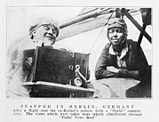 Berlin Germany Framed Prints - Bessie Coleman, Us Aviation Pioneer Framed Print by Schomburg Centernew York Public Library
