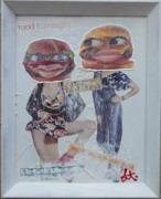 Girls Mixed Media - Best Buns by Lisa Piper Stegeman