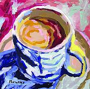 Featured Paintings - Best Cup of Joe by Nancy Rourke