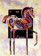 Abstracted Animal Paintings - Best of Show by Bob Coonts