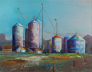 Agriculture Pastels - Bethany Beach Road Trip II by David  Beers