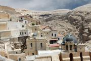 Bethlehem Originals - Bethlehem - Mar Saba Monstary1 by Munir Alawi