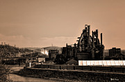 Bethlehem Prints - Bethlehem Steel Print by Bill Cannon