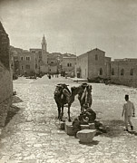 Bethlehem Photo Prints - BETHLEHEM: STREET, c1911 Print by Granger