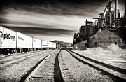Bethlehem Photo Prints - Bethlehem Tracks Print by John Rizzuto
