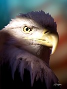 Eagles Digital Art - Betrayed by Bill Stephens