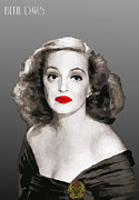 Movie Star Digital Art - Bette Davis by Joaquin Abella Ojeda