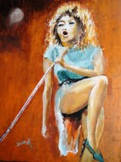 Soul Musicians Paintings - Better Be Good to Me by Judy Kay