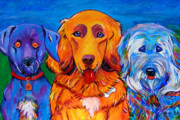 Working Dogs Originals - Betty Davis Eyes by Andrea Folts