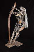 Surrealism Sculpture Originals - Betty by Eddie Sparr