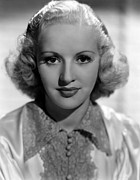 Grable Metal Prints - Betty Grable, 1937 Metal Print by Everett