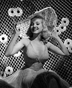 Grable Metal Prints - Betty Grable, 1938 Metal Print by Everett