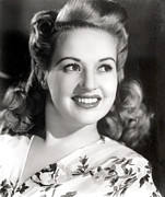 Grable Metal Prints - Betty Grable, Circa 1940s Metal Print by Everett