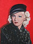 Grable Framed Prints - Betty Grable Framed Print by Dyanne Parker