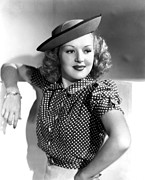 Grable Metal Prints - Betty Grable, Paramount Pictures, Late Metal Print by Everett