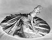 Satin Dress Framed Prints - Betty Hutton, 1942 Framed Print by Everett