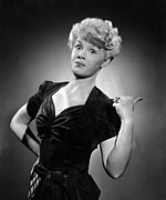 Hairstyles Posters - Betty Hutton, Ca. 1942 Poster by Everett
