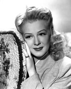 Pinky Ring Framed Prints - Betty Hutton, Ca. Mid-1940s Framed Print by Everett